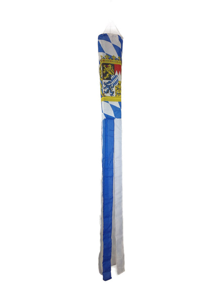 Oktoberfest Windsock Bavarian Pattern