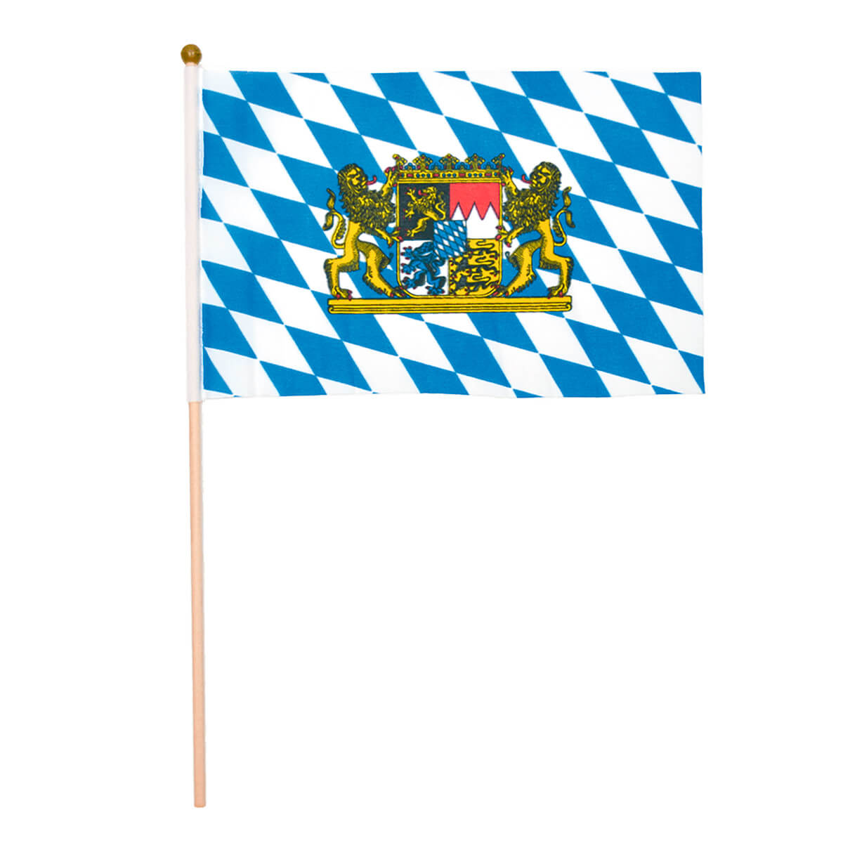 Oktoberfest Party Hand Flag Decorations For Celebrations