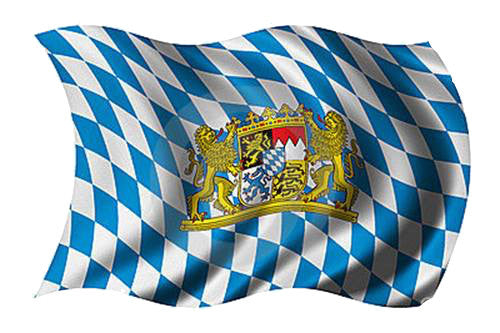 Bavarian Oktoberfest Party Flag