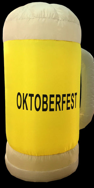 Oktoberfest Party Seven Foot Tall Inflatable Beer Stein