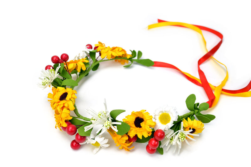 Oktoberfest Garland Golden Harvest - Edelweiss, Garlands, German, Hats, Hats-Headband, New Products, NP Upload, Under $10, Yr-2016 - 2