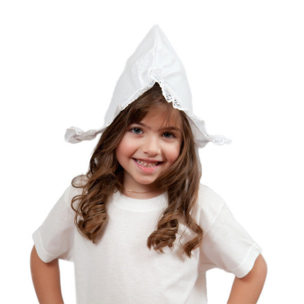 Traditional Dutch Costume Hat Girls Size - Apparel-Costumes, Dutch, Hats, Hats-Costumes, Hats-Kids, Hats-Party, Top-DTCH-A