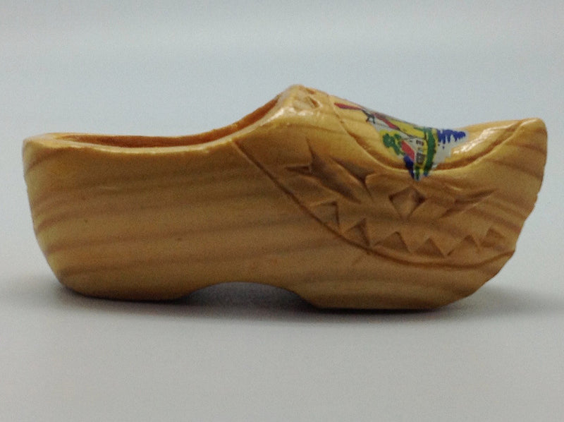 Wooden Shoe Carved Trim Napkin Ring Holder - Apparel-Costumes, Apparel-Handkerchiefs, Collectibles, Dutch, Home & Garden, Napkin Holders, PS-Party Favors Dutch, wood - 2 - 3