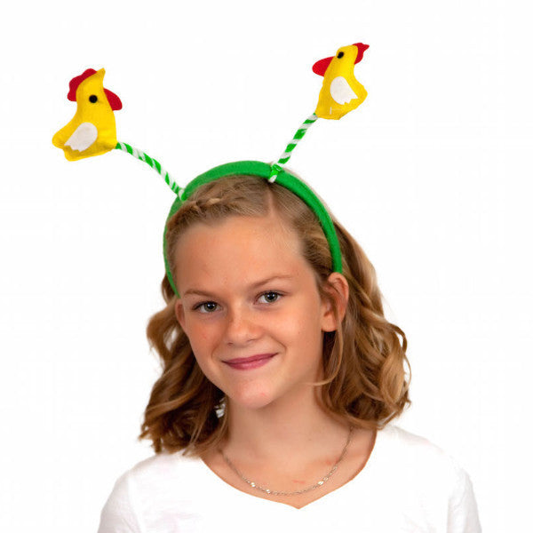 Chicken Dance Headband Oktoberfest Costume Headwear - Animal, Apparel-Costumes, Chicken Dance, Felt, German, Germany, Hats, Hats-Headband, Hats-Kids, Hats-Party, PS-Party Supplies, Top-GRMN-B - 2