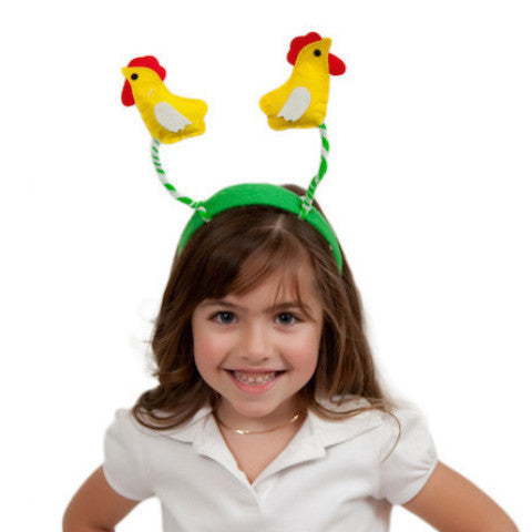 Chicken Dance Headband Oktoberfest Costume Headwear - Animal, Apparel-Costumes, Chicken Dance, Felt, German, Germany, Hats, Hats-Headband, Hats-Kids, Hats-Party, PS-Party Supplies, Top-GRMN-B