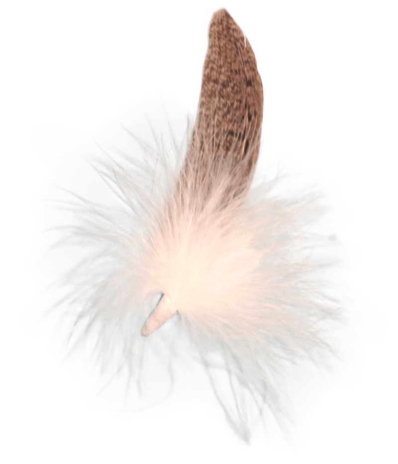 Colorful Single Feather for German Hat - 2