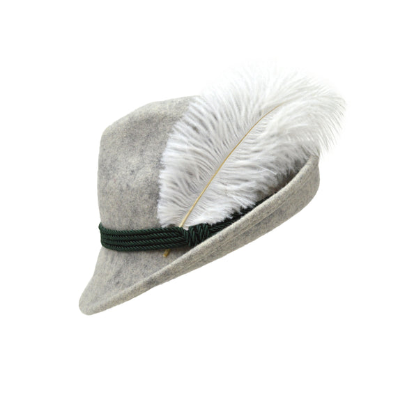 White Hat Feather for Party Hats