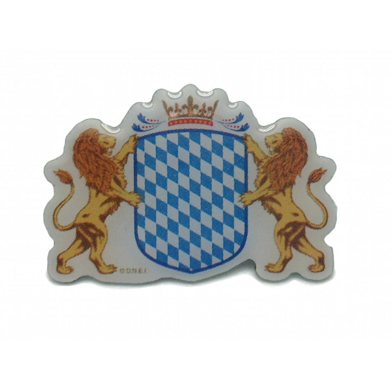 Bavarian Coat of Arms Oktoberfest Hat Pin