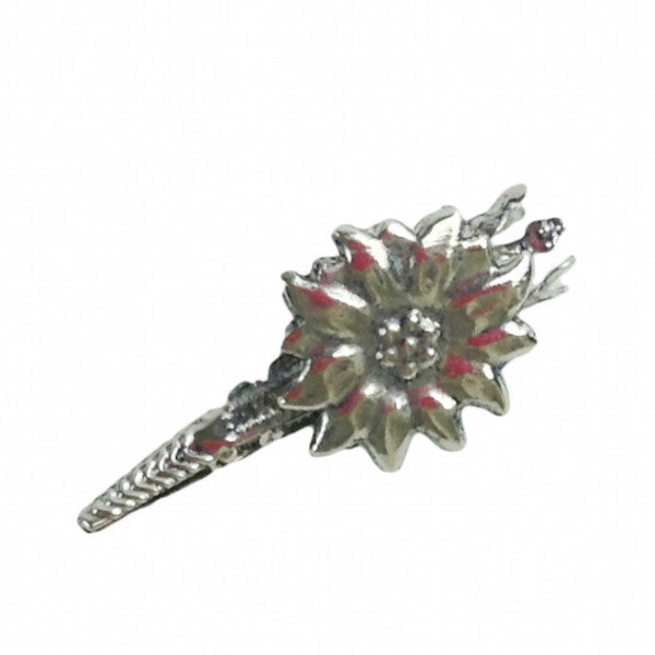 German Edelweiss Hat Pin Piece - Apparel-Costumes, CT-540, Edelweiss, German, Germany, Hat Pins, PS-Party Favors, PS-Party Supplies