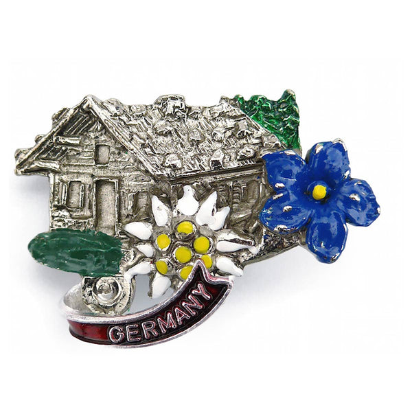 Alpine Haus German Hat Pin