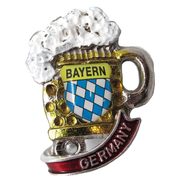 Collectible Germany Beer Mug Deluxe German Hat Pin