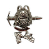 Oktoberfest German Hat Pin Metal Backpack & Hiking Boots Germany Banner