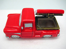 Red Pickup Truck Jewelry Boxes - Collectibles, Figurines, General Gift, Hinge Boxes, Hinge Boxes-General, Home & Garden, Jewelry Holders, Kids, PS-Party Favors, Toys - 2