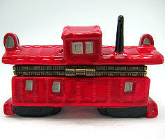 Collectible Caboose Hinge Box - Collectibles, Figurines, General Gift, Hinge Boxes, Hinge Boxes-General, Home & Garden, Jewelry Holders, Kids, PS-Party Favors, Top-GNRL-B, Toys - 2 - 3 - 4
