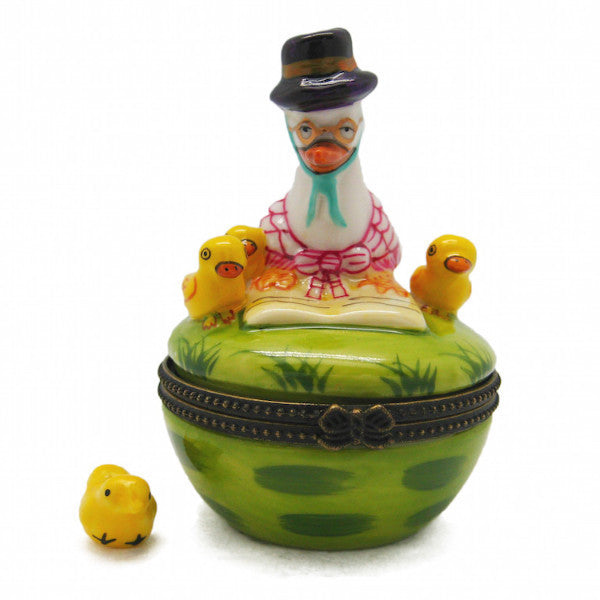 Children's Mother Goose Jewelry Boxes - Animal, Collectibles, Figurines, General Gift, Hinge Boxes, Hinge Boxes-General, Home & Garden, Jewelry Holders, Nursery Rhyme, Toys