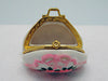 Pink Purse with Flowers Treasure Boxes