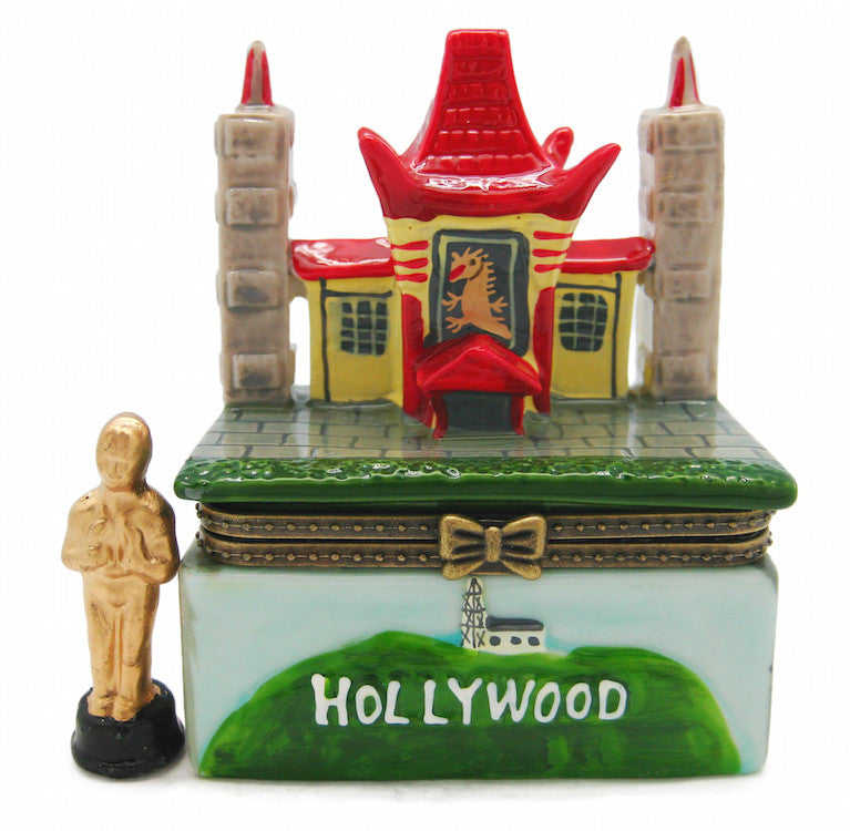 Hinge Boxes Hollywood and China Theatre - Collectibles, Decorations, Figurines, General Gift, Home & Garden, Jewelry Holders, Toys