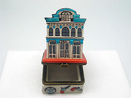 Western City Hall & Jail Treasure Boxes - Collectibles, Figurines, General Gift, Hinge Boxes, Hinge Boxes-Western, Home & Garden, Jewelry Holders, Kids, Toys, Western - 2