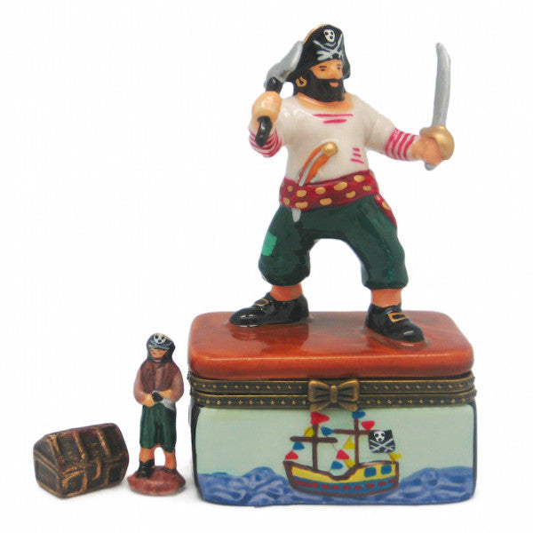Collectible Pirate Jewelry Boxes - Collectibles, Figurines, General Gift, Hinge Boxes, Hinge Boxes-General, Home & Garden, Jewelry Holders, Kids, Toys