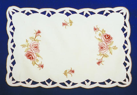 Burgundy Rose Placemat