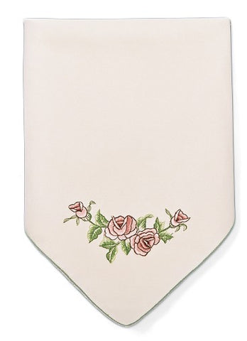 Burgundy Rose Napkin