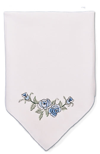 Blue Rose Napkin Lace Table