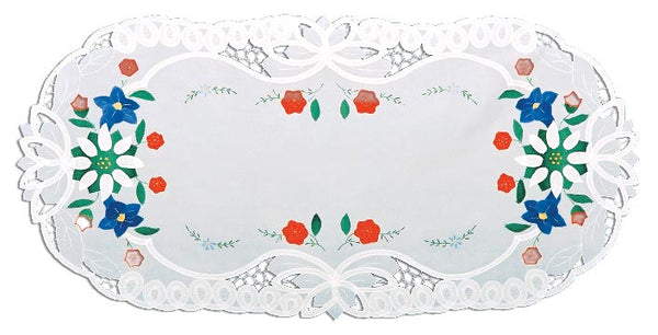 German Edelweiss Oktoberfest Table Runners