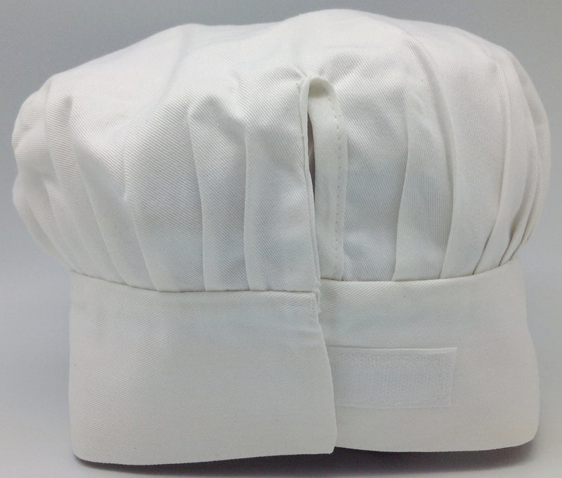 Chefs Hat White with no design - Apparel-Chef's Hat, Apparel-Costumes, Apparel-Kitchenware, General Gift - 2 - 3