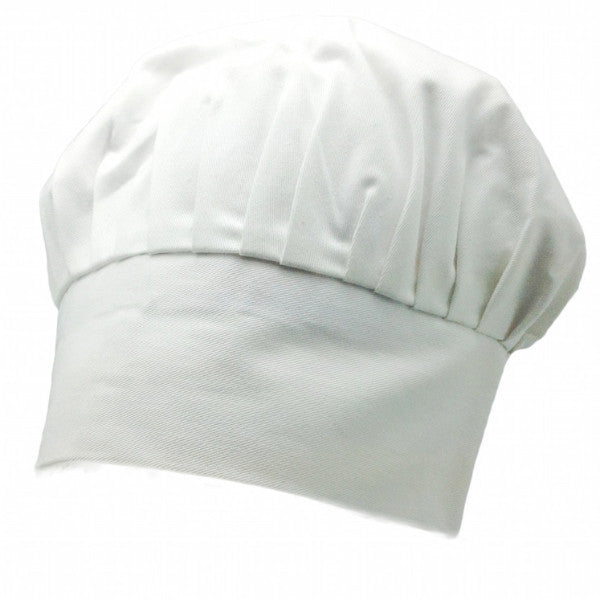 Chefs Hat White with no design - Apparel-Chef's Hat, Apparel-Costumes, Apparel-Kitchenware, General Gift