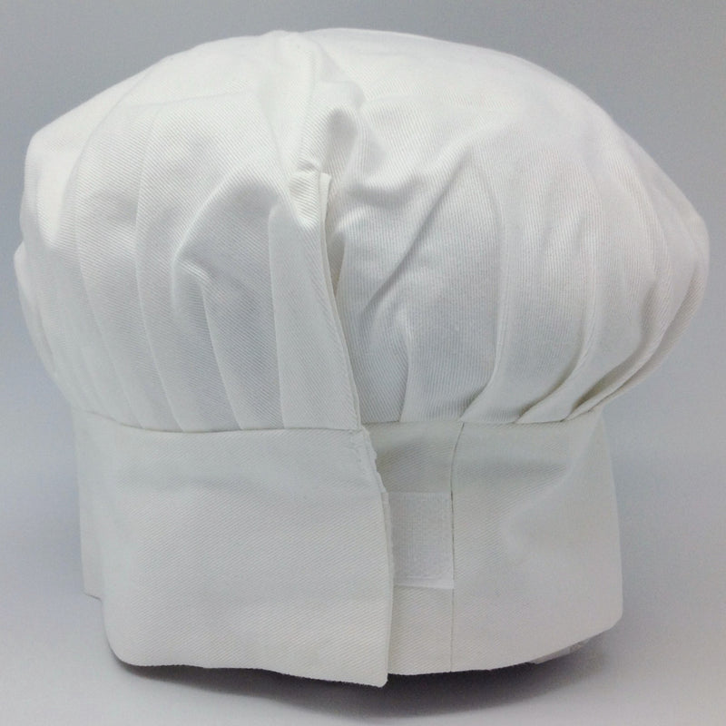 Scandinavian Uff Da White Chef Hat - Apparel-Chef's Hat, Apparel-Costumes, Apparel-Kitchenware, Below $10, Danish, Norwegian, Scandinavian, SY: Uff Da - 2 - 3