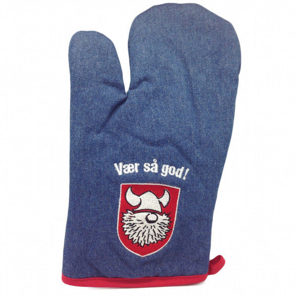 Vaer Sa God! Denim Mitten Scandinavian Gift