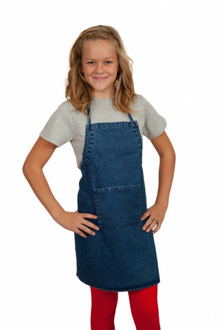 BBQ Kitchen Apron Blank Denim