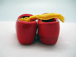 Unique Magnet Holland Wooden Shoes Red 1.75 inches - Below $10, Collectibles, CT-600, Decorations, Dutch, Home & Garden, Kitchen Magnets, Magnets-Refrigerator, PS-Party Favors, PS-Party Favors Dutch - 2 - 3