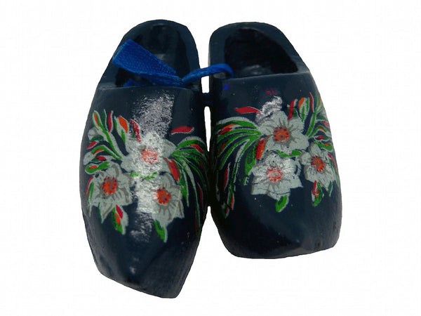 Unique Magnet Dutch Clogs Blue 2.25