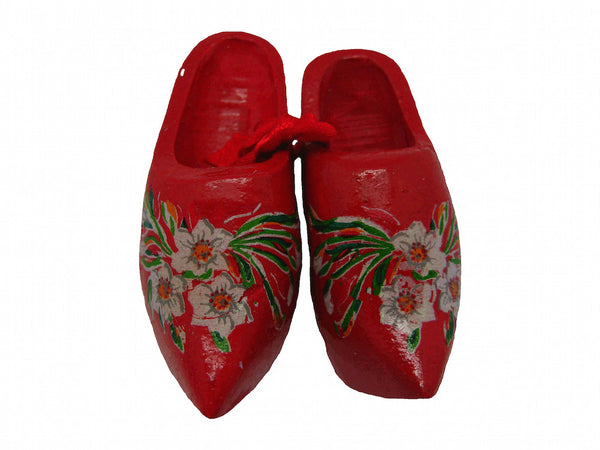 Unique Magnet Dutch Clogs Red 2.25