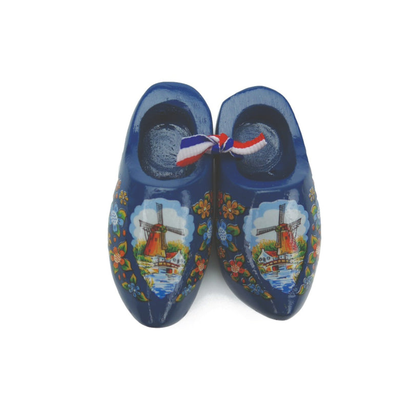 Wooden Shoes Magnetic Blue