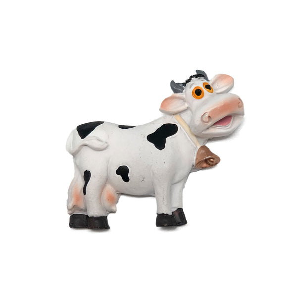 Novelty Cow Magnet made of Poly Resin