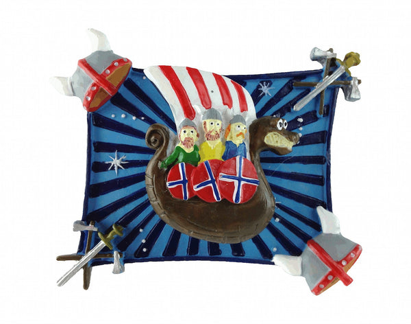 Novelty Viking Souvenir Magnet