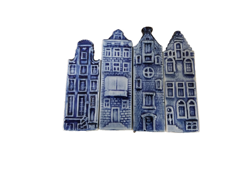 Delft Blue Canal Houses Kitchen Magnet -