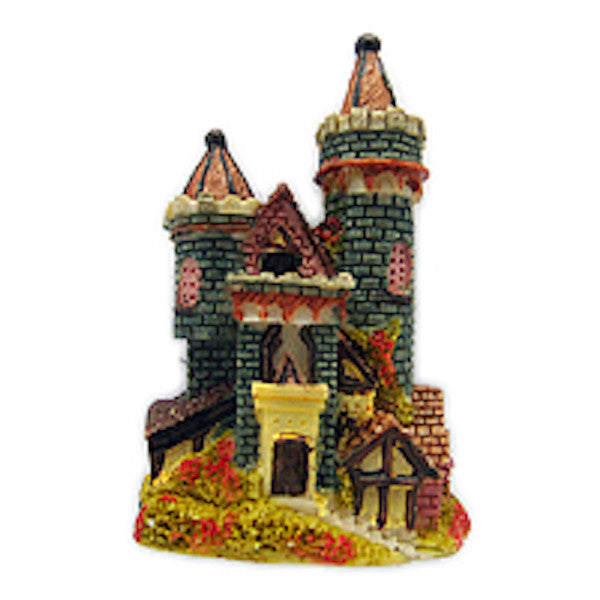 German Souvenir Bavarian Castles Refrigerator Magnet Grey - Collectibles, CT-520, German, Germany, Home & Garden, Kitchen Magnets, Magnets-German, Magnets-Refrigerator, Poly Resin, PS-Party Favors, PS-Party Favors German