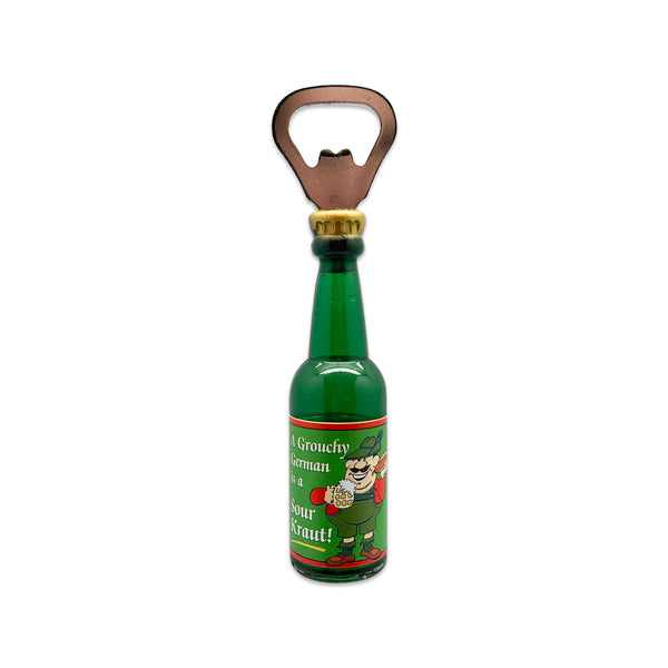 Grouchy German Oktoberfest Magnetic Bottle Openers