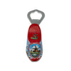 Bottle Opener Refrigerator Magnet Wooden Shoe