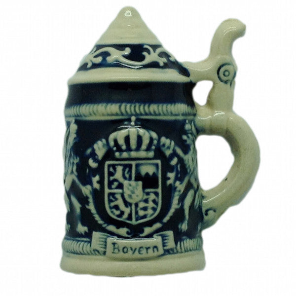 German Stein Magnet Bayern Lions - Bayern, Beer Stein-Magnets, Collectibles, CT-520, German, Germany, Home & Garden, Kitchen Magnets, Magnet-Stein, Magnets-German, Magnets-Refrigerator, PS- Oktoberfest Party Favors, PS-Party Favors, PS-Party Favors German