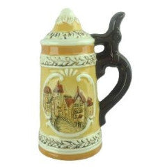 Refrigerator Magnet Beer Stein - Alcohol, Beer Stein-Magnets, Collectibles, CT-520, Euro Village, European, German, Germany, Home & Garden, Kitchen Magnets, Magnet-Stein, Magnets-German, Magnets-Refrigerator, PS- Oktoberfest Party Favors, PS-Party Favors, PS-Party Favors German