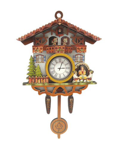 German Bier Garten Cuckoo Clock Deco Kitchen Magnet