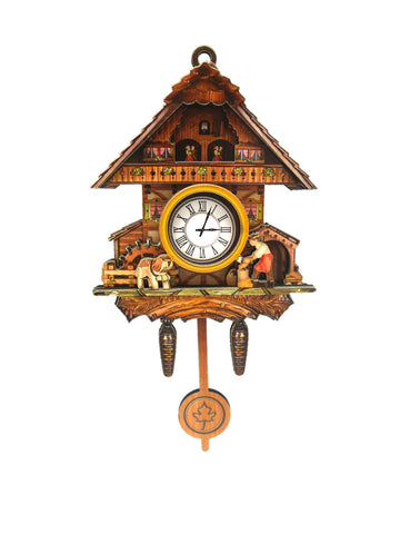 German Man & Dog Cuckoo Clock Decorative Kitchen Magnet