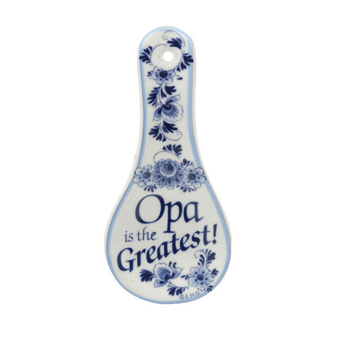 Ceramic Spoon Rest Magnet Opa..Greatest
