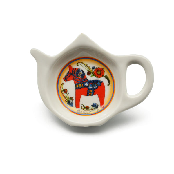 Red Dala Horse Decorative Teapot Kitchen Magnet