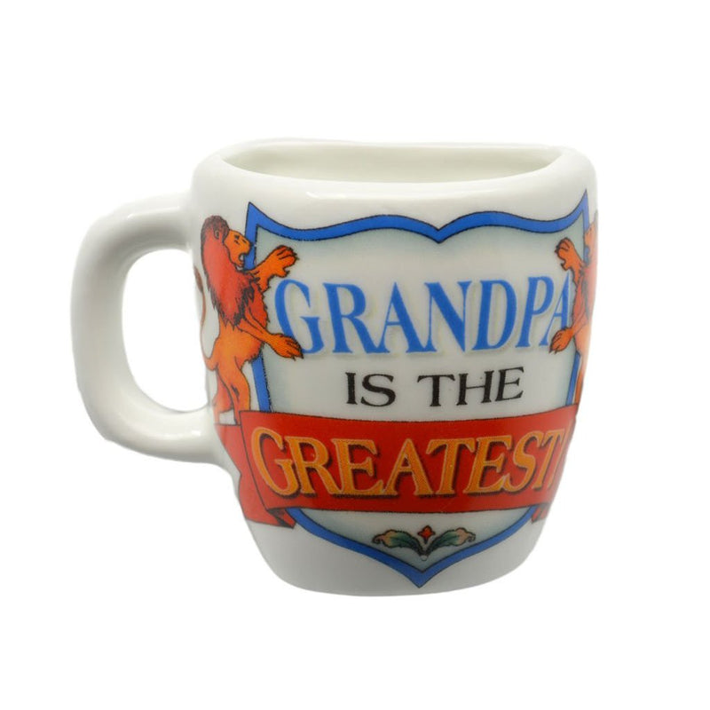 inchesGrandpa is the Greatest inches Mug Magnets - CT-100, CT-101, Grandpa, Magnet Mug, Magnets-Refrigerator, New Products, NP Upload, SY:, SY: Grandpa Greatest, Under $10, Yr-2016