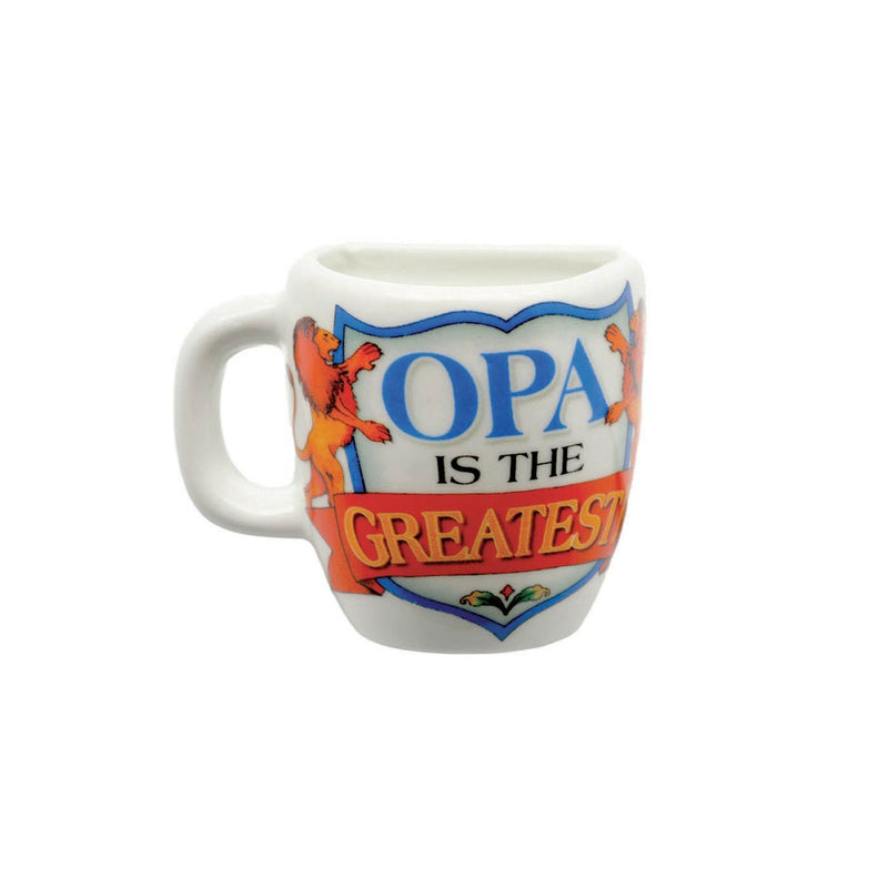 """Opa is the Greatest"" Mug Magnets"
